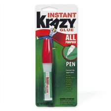 Krazy Glue Pen, w/ Leakproof Capacity, 3-Grams