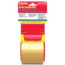 "2"" X 17.5 Yds Clear Film General Purpose Carton Sealing Tape 3196"
