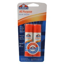2 Count All Purpose Glue Stick