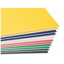 Colored Foam Board (Set of 10)
