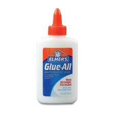 Glue-All White Glue, Repositionable, 4 Oz.