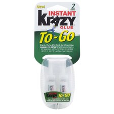 0.5 Oz. Instant Krazy Glue To Go (Set of 2)