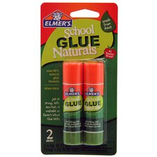0.21 Oz. Clear School Glue Naturals (Set of 2)