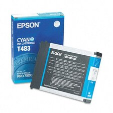 T483011 OEM Ink Cartridge, 110 Page Yield, Cyan