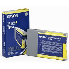 T545400 OEM Ink Cartridge, 110 Page Yield, Yellow