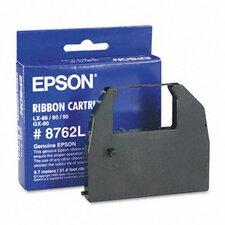 8762L Printer Ribbon, Fabric, Black
