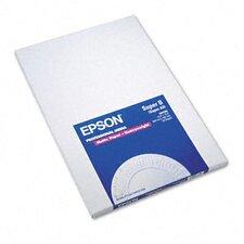 S041263 Premium Matte Presentation Paper, 45 Lbs., 13 X 19, 50 Sheets/Pack