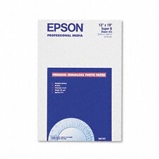 S041327 Premium Photo Paper, 68 Lbs., 13 X 19, 20 Sheets/Pack