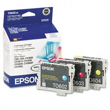 T060520 Ink, 1350 Page-Yield, 3/Pack