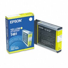 T481011 Ink Cartridge, Yellow
