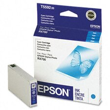 <strong>Epson America Inc.</strong> T559220 Inkjet Cartridge, Cyan