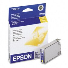 <strong>Epson America Inc.</strong> T559420 Inkjet Cartridge, Yellow
