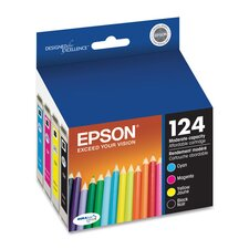 Ink Cartridge, 170 Page Yield, Assorted