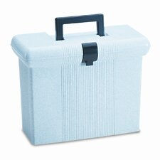 Portafile File Storage Box, Letter, Plastic, 14-7/8 X 6-1/2 X 11-7/8