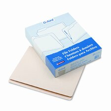Pocket Folders, Straight Cut, Top Tab, Letter, 50/Box