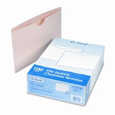 Double-Ply Tabbed File Jackets, Legal, 100/Box