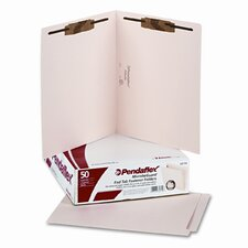 Anti Mold, Mildew End Tab File Folders, Two Fastener, Letter, 50/Box