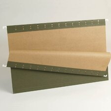 Essentials Hanging File Folders, 1/3 Tab, Legal, 25/Box