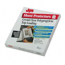 Oxford Top-Load Poly/Vinyl Sheet Protectors, Standard Gauge, Letter, Clr 150/Box