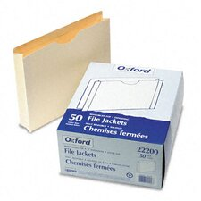 "<strong>Esselte Pendaflex Corporation</strong> Double-Ply Tabbed File Jacket with Two"" Expansion, Letter, 50/Box"