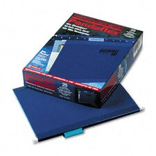 Reinforced Hanging File Folders, Letter, 25/Box