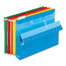 "<strong>Esselte Pendaflex Corporation</strong> Ready-Tab Ready-Tab Hanging File Folders, 2"" Capacity, Letter, 20/Box"