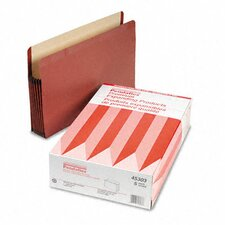 "Watershed Seven"" Expansion File Pocket, Straight Cut, Legal, 5/Box"