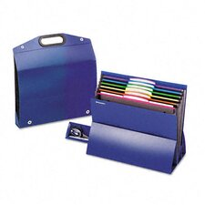 "<strong>Esselte Pendaflex Corporation</strong> Two"" Expansion Desktop File, Six Pockets, Poly, Letter"