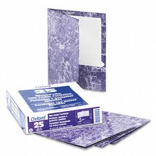 <strong>Esselte Pendaflex Corporation</strong> Oxford Marble High-Gloss Laminated Paper Portfolio