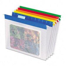 Easyview Poly Hanging File Folders, Letter, 25/Box
