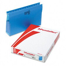 "Three"" Expansion Hanging Box Bottom Folders with Sides, Legal, 25/Box"