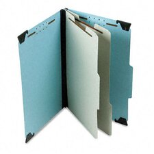 <strong>Esselte Pendaflex Corporation</strong> Pressboard Hanging Classification Folder with Dividers, Six-Section, Legal