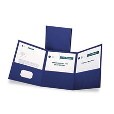 Oxford Tri-Fold Folder with 3 Pockets, Holds 150 Letter-Size Sheets
