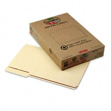 Earthwise Earthwise 100% Recycled Paper File Folder, 1/3 Cut, Legal, 100/Box