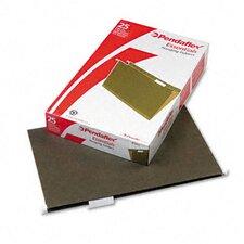 Essentials Hanging File Folders, 1/5 Tab, Legal, 25/Box