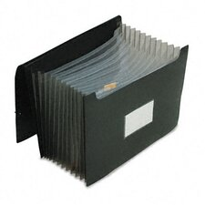 "Jumbo 12"" Expansion File, 13 Pockets, Poly, Letter"