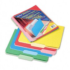 <strong>Esselte Pendaflex Corporation</strong> Two-Tone File Folders, 1/3 Cut Top Tab, Letter, 24/Pack