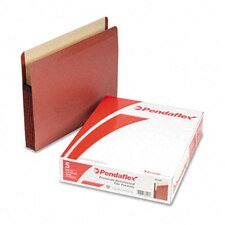 "Premium Expansion File, 5 1/4"" Expansion, Straight Cut, Letter, 5/Box"