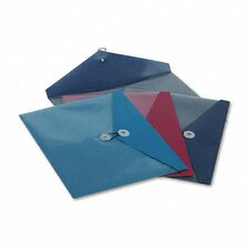 <strong>Esselte Pendaflex Corporation</strong> Viewfront Standard Pocket Poly Booklet Envelope, 4/Pack