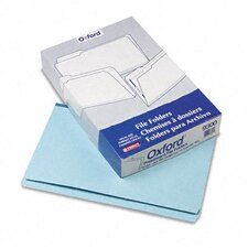 Pressboard Expanding File Folders, Straight Cut, Top Tab, Legal, 25/Box