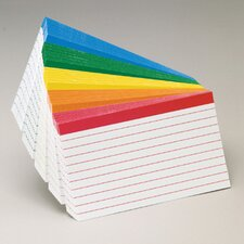 Oxford Color-coded Index Cards 4x6