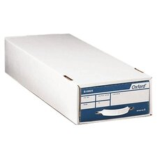 "Storage File,Stnd,For Checks/Vouchers,9""x24""x4-1/4"",WE/BE"