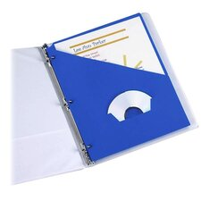 Essentials Slash Pocket Project Folders, Jacket, Letter, 25/Pack
