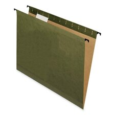 Surehook Hanging File Folders, Letter, 20/Box