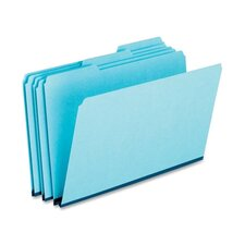 Pressboard Expanding File Folders, 1/3 Cut Top Tab, Legal, 25/Box
