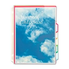 5-Divider Full Pocket Folder (5 Per Box)