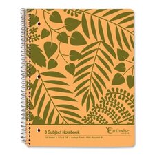 Envirotech 3 Subject Notebook