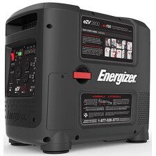 Energizer 2800W Portable Inverter Generator with Manual Recoil Start