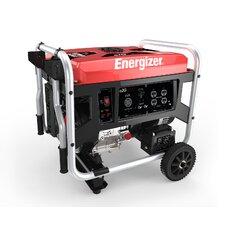 Energizer Portable 7,250 Watt Gasoline Generator with Manual Recoil Start