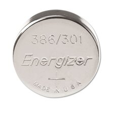 Watch/Electronic Battery, Silvox, 386, 1.5V, Mercfree